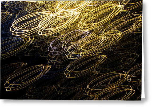 Diode Greeting Cards - Light Painting 13 Greeting Card by Hakon Soreide