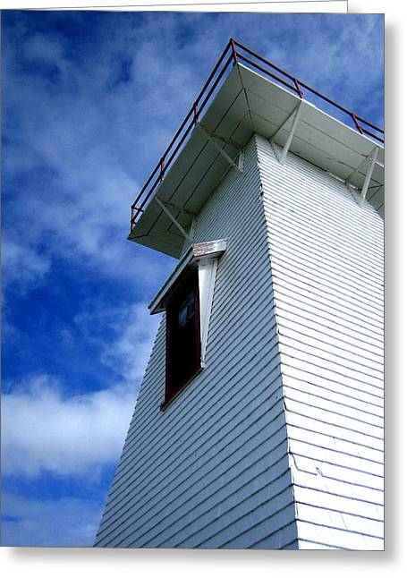 Ann Powell Art Greeting Cards - Lighthouse Prince Edward Island Greeting Card by Ann Powell