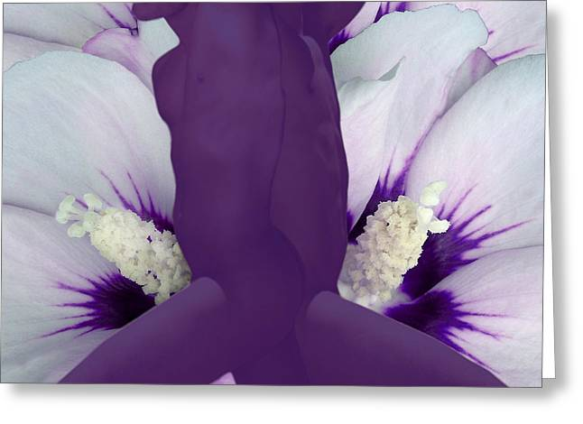 Fleurotica Art Greeting Cards - Likewise Greeting Card by Torie Tiffany