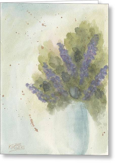 Lilac Greeting Cards - Lilacs Greeting Card by Ken Powers