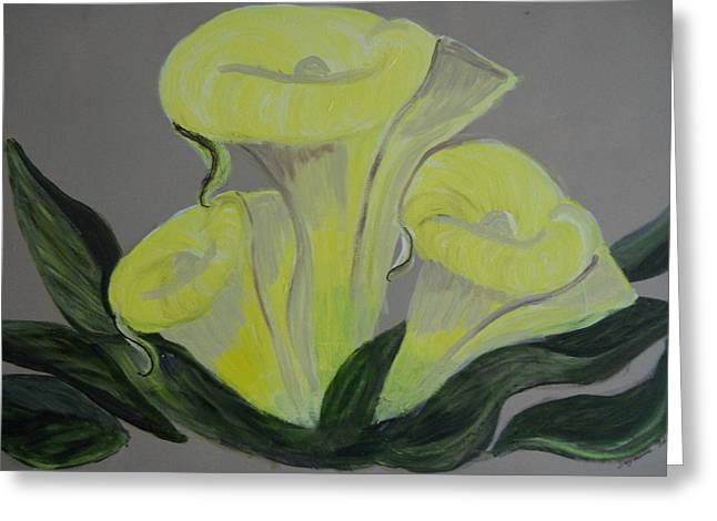 Nyc Posters Paintings Greeting Cards - Lillys Greeting Card by Suzanne Thomas