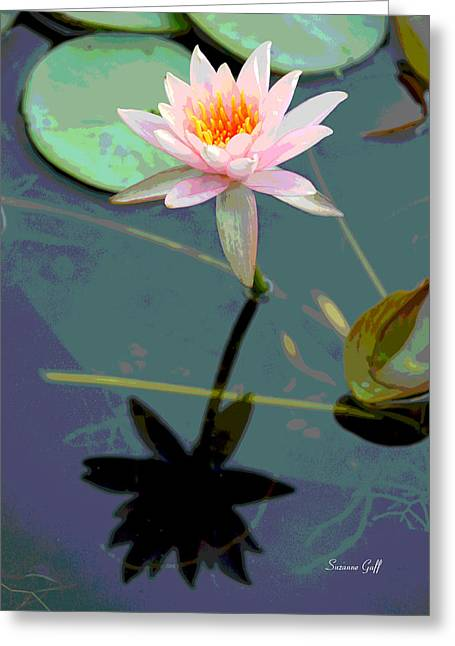 Lily Pad Greeting Cards Greeting Cards - Lily Palooza Greeting Card by Suzanne Gaff