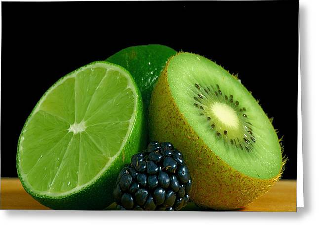 Lime It Up Greeting Card by Davor Sintic