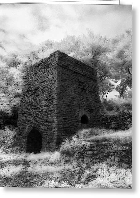 Jeff Holbrook Greeting Cards - Lime Kiln Greeting Card by Jeff Holbrook