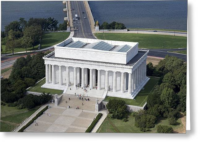 Highsmith Greeting Cards - Lincoln Memorial, 2006 Greeting Card by Granger