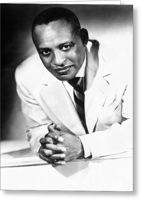 Hamptons Greeting Cards - Lionel Hampton (1908-2002) Greeting Card by Granger