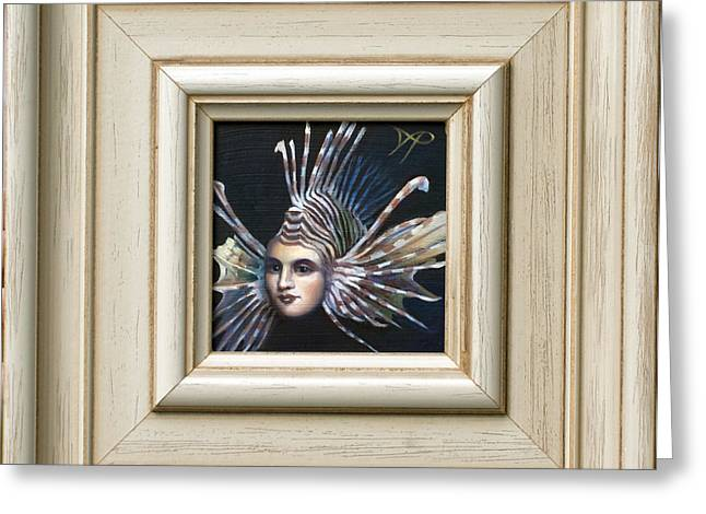 Lionfish Greeting Cards - Lionessfish Greeting Card by Patrick Anthony Pierson