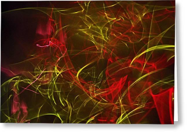 Liquid Saphire 11 Greeting Card by Cyryn Fyrcyd
