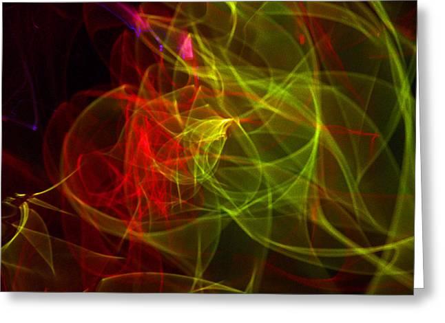 Liquid Saphire 5 Greeting Card by Cyryn Fyrcyd