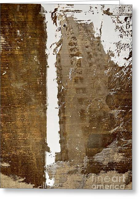 Citylife Greeting Cards - Liquidity Greeting Card by Dean Harte