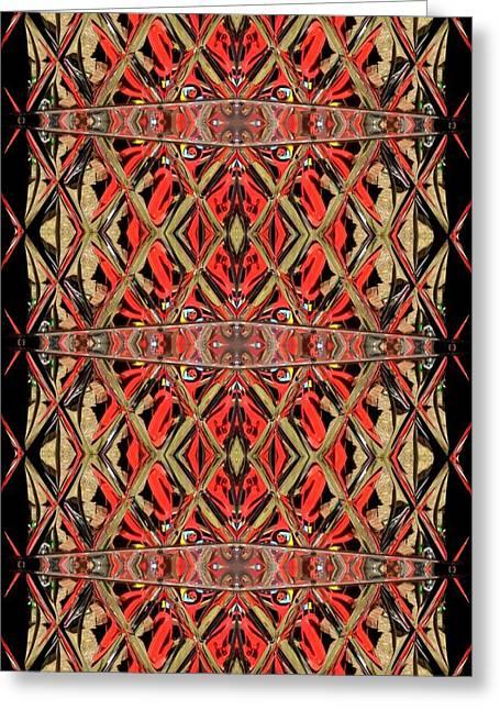 Digita Art Greeting Cards - Lit0911001014 Greeting Card by Tres Folia