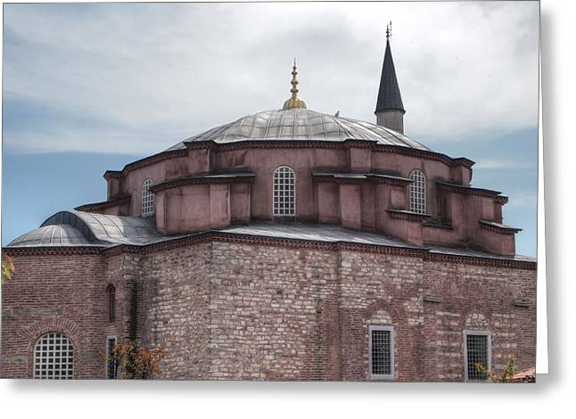 Sergius Greeting Cards - Little Hagia Sophia Greeting Card by Guillaume Rodrigue