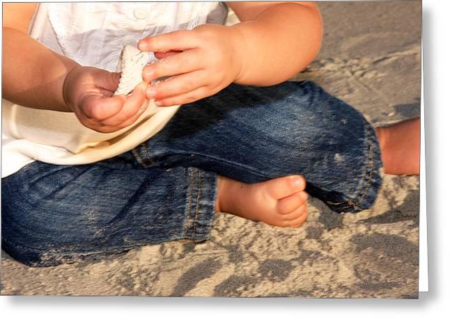 Bonnes Eyes Fine Art Photography Greeting Cards - Little Hands Greeting Card by Bonnes Eyes Fine Art Photography