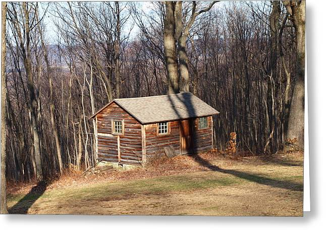 Barn In Woods Photographs Greeting Cards - Little House In The Woods Greeting Card by Robert Margetts