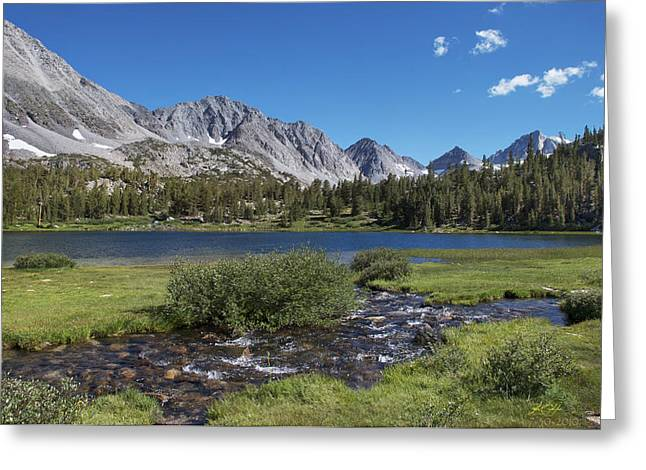 Little Lakes Valley Greeting Cards - Little Lakes Valley Greeting Card by Kenneth Hadlock