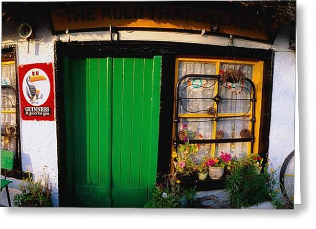 Entryway Greeting Cards - Little Marys Shop, Kilmore, Co Greeting Card by The Irish Image Collection