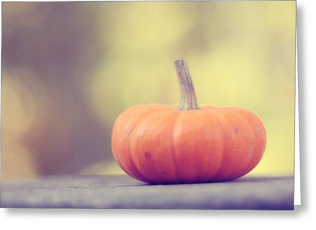 Little Pumpkin Greeting Card by Amy Tyler