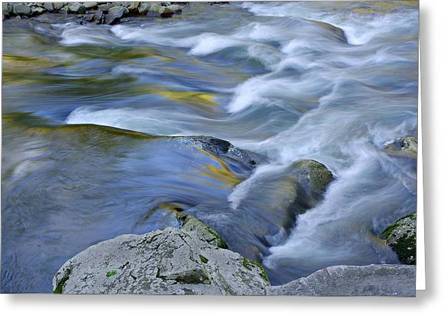 Little River Great Smoky Mountains Greeting Card by Dean Pennala