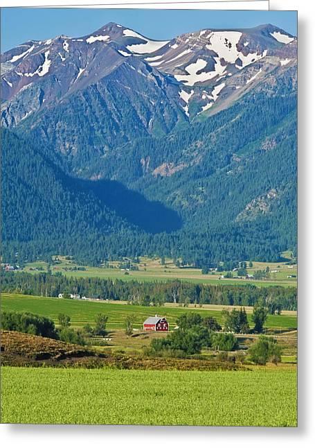 Little Switzerland  Greeting Card by Alvin Kroon