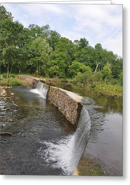 Little Wayne Greeting Cards - Little Valley Creek Greeting Card by Bill Cannon