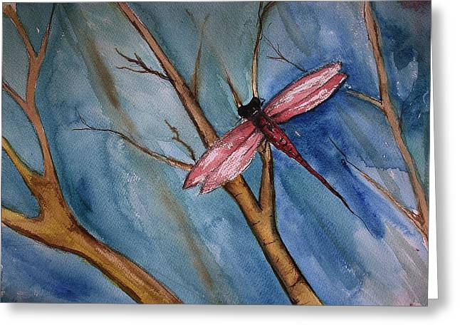 Paint Photograph Greeting Cards - Little Wonder from a Quiet Walk Greeting Card by Julie Lueders
