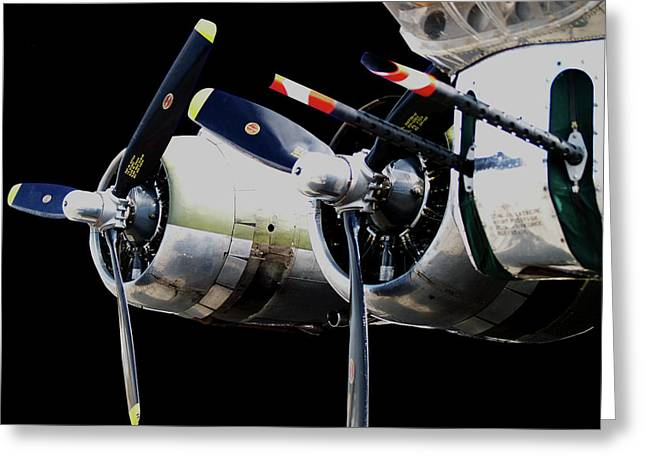 Multi-engine Greeting Cards - LitUp Greeting Card by Robert Trauth