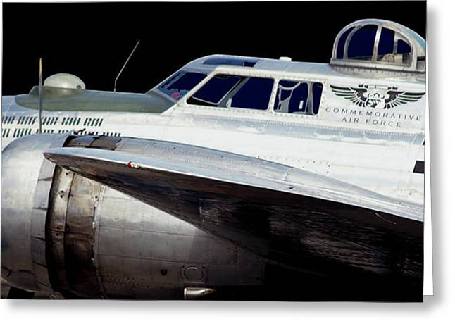 Multi-engine Greeting Cards - LitUp2 Greeting Card by Robert Trauth