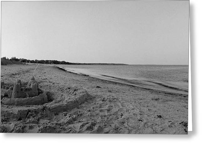 Sand Castles Greeting Cards - Ljungern Fortification Greeting Card by Jan Faul