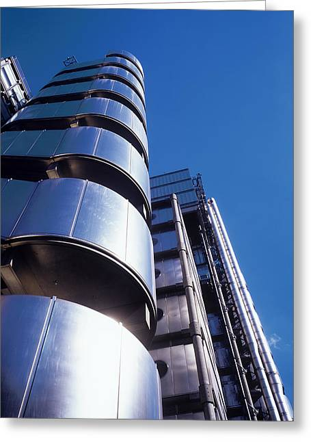 Inside Out Greeting Cards - Lloyds Of London Greeting Card by Carlos Dominguez