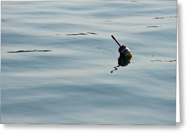 Lobster Bouys Greeting Cards - Lobster Buoy Greeting Card by Edward Myers