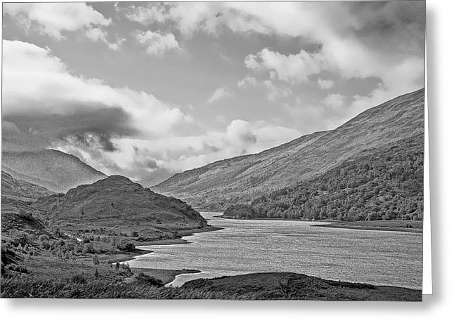 Glen Coe Greeting Cards - Loch Levan Greeting Card by Chris Thaxter