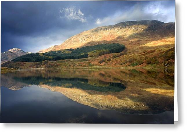 Loch Lobhair, Scotland Greeting Card by John Short