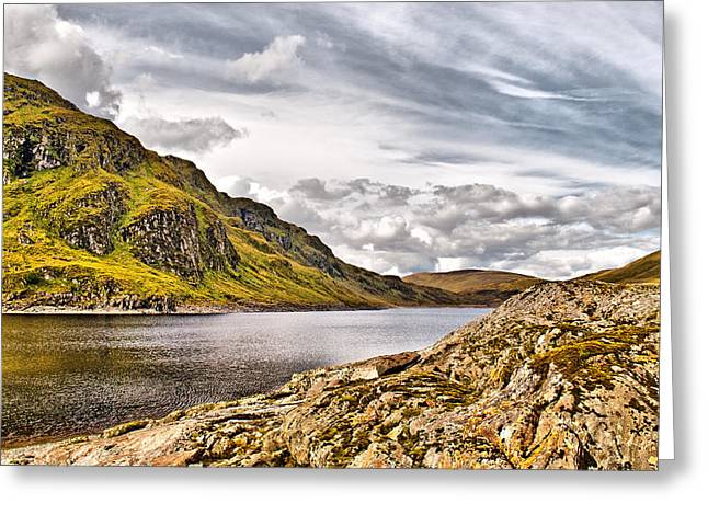 Lochan Greeting Cards - Lochan na Lairige 2 Greeting Card by Chris Thaxter