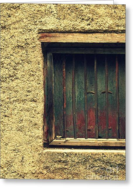 Vishakha Greeting Cards - Locked and abandoned - 3 Greeting Card by Vishakha Bhagat