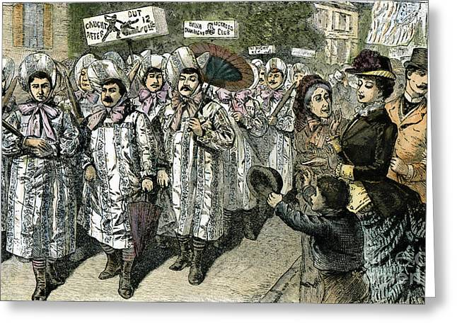 Equal Rights Movement Greeting Cards - Lockwood Campaign, 1884 Greeting Card by Granger