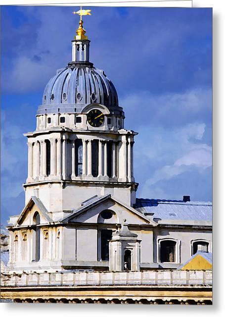 Weathervane Digital Art Greeting Cards - London Blues Greeting Card by Stephen Anderson