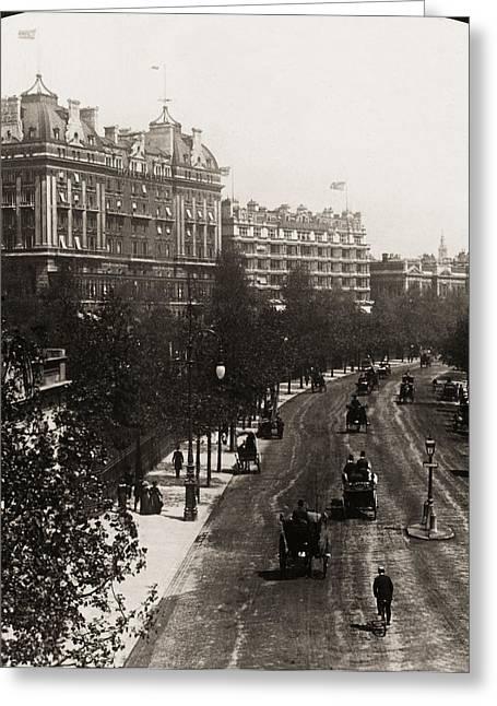 London: Embankment, 1908 Greeting Card by Granger