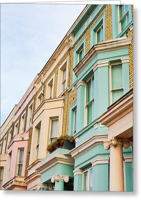 Chelsea Greeting Cards - London houses Greeting Card by Tom Gowanlock