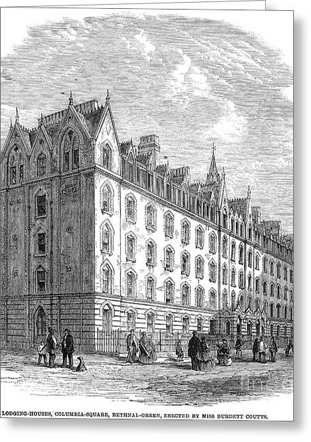 London: Lodging House Greeting Card by Granger