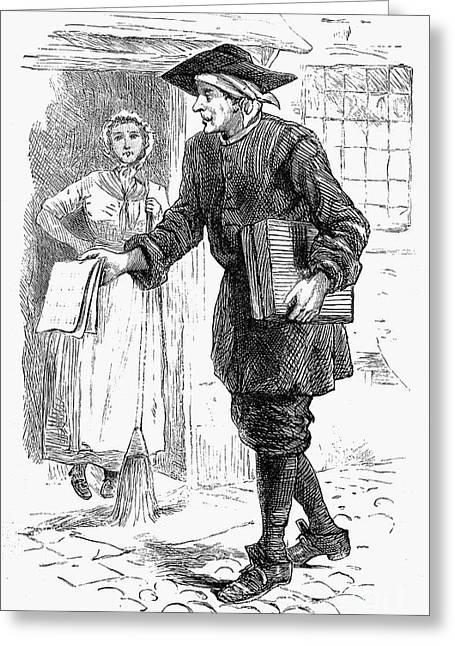 Peddler Greeting Cards - London: Peddler Greeting Card by Granger