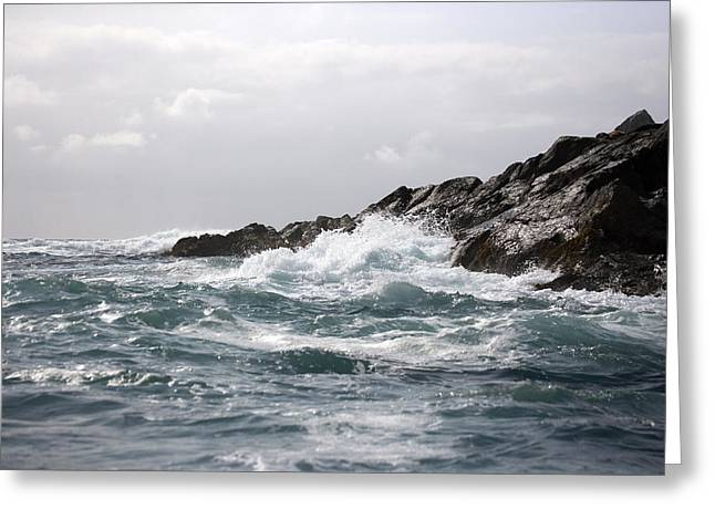 Lonely Cape St. James At Southern Point Greeting Card by Pete Ryan