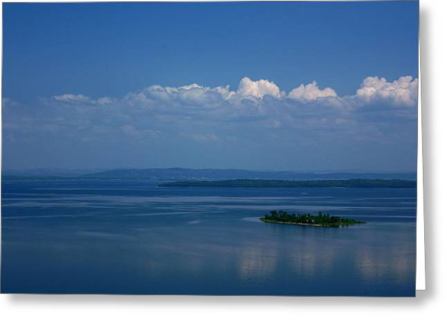Manitoulin Greeting Cards - Lonely Island Greeting Card by Cale Best