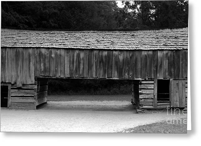 Tennessee Barn Greeting Cards - Long barn Greeting Card by David Lee Thompson
