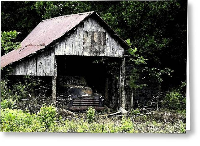 Tennessee Farm Digital Greeting Cards - Long Forgotten Greeting Card by Jay Stephen