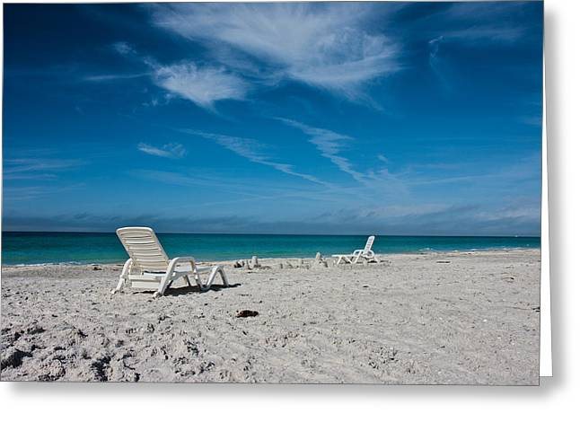 Longboat Key  Greeting Card by Betsy A  Cutler
