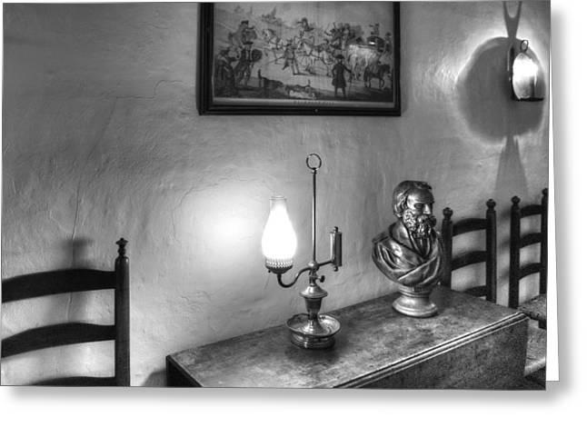 Longfellows Wayside Inn Greeting Card by Lee Fortier