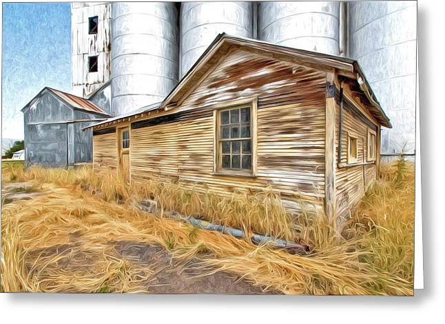 Grain Mill Greeting Cards - Look At Me Now Greeting Card by James Steele