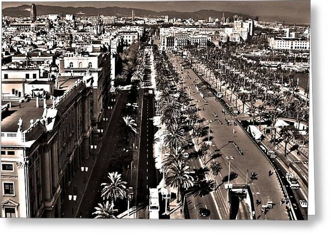 Looking East ... Greeting Card by Juergen Weiss
