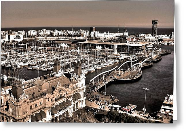 Catalunya Photographs Greeting Cards - Looking South ... Greeting Card by Juergen Weiss