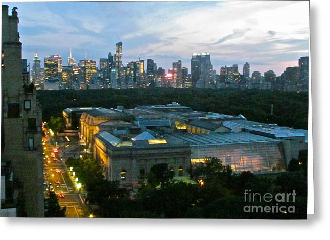 Randi Shenkman Greeting Cards - Looking South NYC Greeting Card by Randi Shenkman